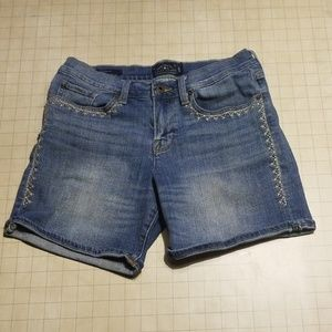 Lucky Brand Roll Up Jean Shorts Size 6